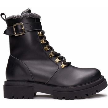 Zapatos Mujer Botas de caña baja Nae Vegan Shoes Nerea_Black Negro