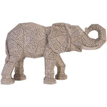 Casa Figuras decorativas Signes Grimalt Figura de Elefante Plateado
