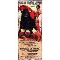Casa Afiches, posters Signes Grimalt Placa Pared Toros Multicolor