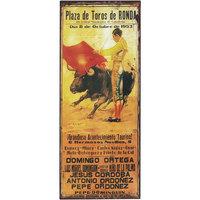 Casa Afiches, posters Signes Grimalt Adorno Parez Plaza de Toros Marrón