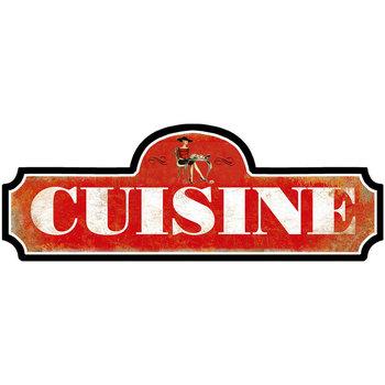 Casa Afiches, posters Signes Grimalt Adorno Pared Cuisine Rojo