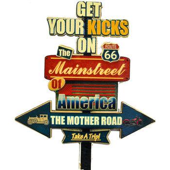 Casa Afiches, posters Signes Grimalt Adorno Pared Route 66 Multicolor