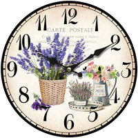 Casa Relojes Signes Grimalt Reloj Pared Lavanda Lila