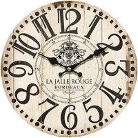 Casa Relojes Signes Grimalt Reloj Pared Bordeaux Marrón