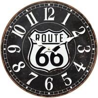 Casa Relojes Signes Grimalt Reloj Pared Route 66 Negro