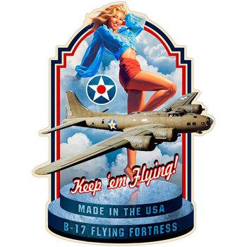 Casa Afiches, posters Signes Grimalt Adorno Pared Flying Azul