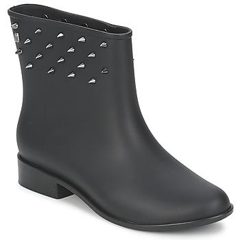 Zapatos Mujer Botas de caña baja Melissa MOON DUST SPIKE Negro