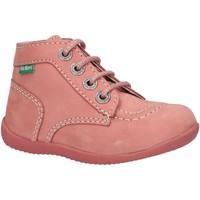 Zapatos Niños Botas de caña baja Kickers 695074 BONBON-2 Rosa