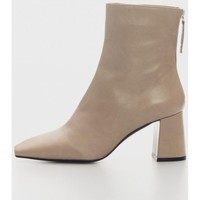Zapatos Mujer Botines Angel Alarcon 21511 Beige