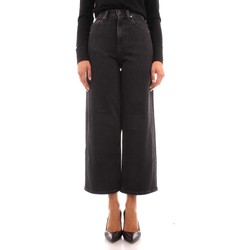 textil Mujer Vaqueros rectos Calvin Klein Jeans K20K203376 NEGRO