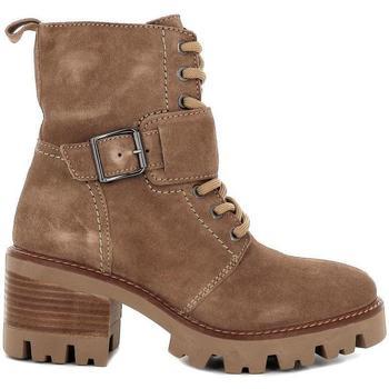 Zapatos Mujer Botines Pepe Parra 6879 Beige