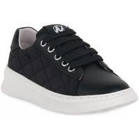 Zapatos Niña Zapatillas bajas Naturino A01 NIXOM PLATINO Nero