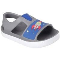 Zapatos Niños Zapatos para el agua Skechers Lil Steppers Grises