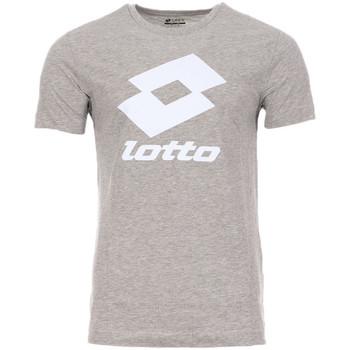 textil Hombre Camisetas manga corta Lotto  Gris