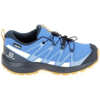 Zapatos Niños Running / trail Salomon Xa Pro V8 Jr CSWP Bleu Azul
