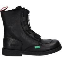 Zapatos Mujer Botas de caña baja Kickers 877930-50 MEETICKROCK Negro