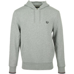 textil Hombre Sudaderas Fred Perry Tipped Hooded Sweatshirt Gris