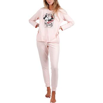 textil Mujer Pijama Admas Pyjama tenue d'intérieur pantalon et haut First Dates Disney Naranjaange