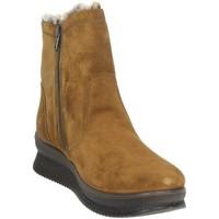 Zapatos Mujer Botas de nieve Imac 806359 Marrón cuero