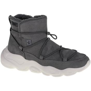 Zapatos Mujer Botas de nieve Big Star Shoes Grise