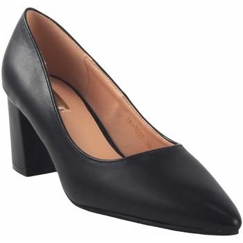 Zapatos Mujer Zapatos de tacón Bienve Zapato señora  1a-1037 negro Negro