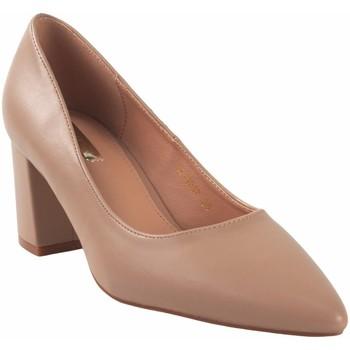Zapatos Mujer Zapatos de tacón Bienve Zapato señora  1a-1037 salmon Rosa
