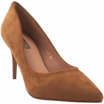 Zapatos Mujer Zapatos de tacón Bienve Zapato señora  1a-0320/2a-9586 cuero Marrón