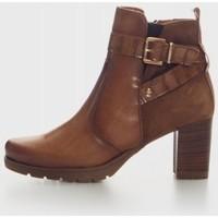 Zapatos Mujer Botines Kamome LEURY4 Marron