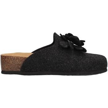 Zapatos Mujer Pantuflas Bionatura 12CANAZ-FI-FLA11 ANTRACITA