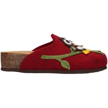Zapatos Mujer Pantuflas Bionatura 12GUFO-I-FELB503 BURDEOS
