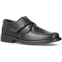 Zapatos Hombre Mocasín Cbp - Conbuenpie Zapatos de piel con velcro by CBP Noir