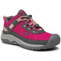 Zapatos Niños Senderismo Keen Targhee Sport Grises, Rosa