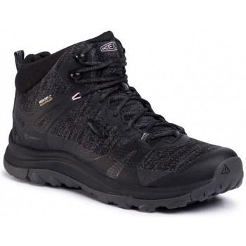 Zapatos Mujer Senderismo Keen Terradora II Mid WP Negros