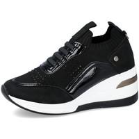 Zapatos Mujer Deportivas Moda Mysoft 21M533 NEGRO