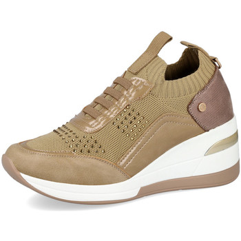 Zapatos Mujer Deportivas Moda Mysoft 21M533 TAUPE