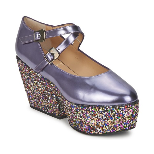 Los últimos zapatos de descuento para hombres y mujeres Zapatos especiales Minna Parikka KIDE Púrpura / Multicolor