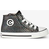 Zapatos Niños Zapatillas altas Conguitos Zapatillas Alta Niña Disco Glitter 534