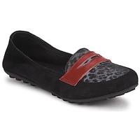 Zapatos Niña Mocasín Mod'8 CELEMOC JUNIOR Negro / Leopardo / Rojo