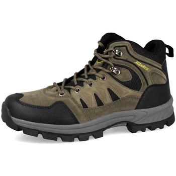 Zapatos Hombre Senderismo L&R Shoes U6639-6 VERDE