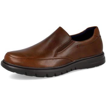 Zapatos Hombre Mocasín L&R Shoes A2005 MARRON