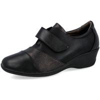 Zapatos Mujer Bailarinas-manoletinas L&R Shoes E98003 NEGRO
