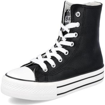 Zapatos Niña Zapatillas altas Conguitos LI552714 NEGRO