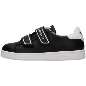 Zapatos Niño Zapatillas bajas Emporio Armani EA7 XSX014 NEGRO