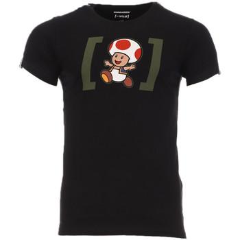 textil Hombre Camisetas manga corta Capslab  Negro