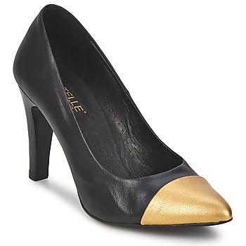 Zapatos Mujer Zapatos de tacón Pastelle AMELINE Negro