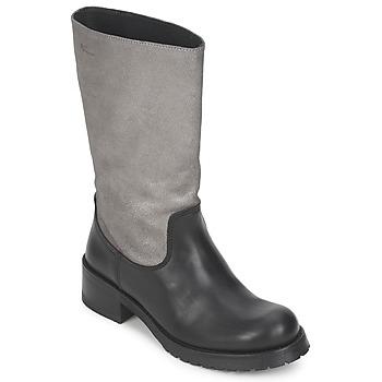 Zapatos Mujer Botas urbanas Pastelle PETULA Plateado-negro