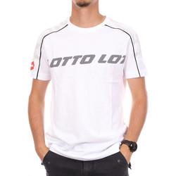 textil Hombre Camisetas manga corta Lotto  Blanco