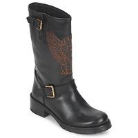 Zapatos Mujer Botas de caña baja Pastelle ANGEL Negro