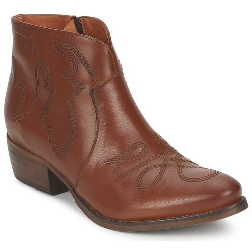 Zapatos Mujer Botas de caña baja Pastelle JANE Camel