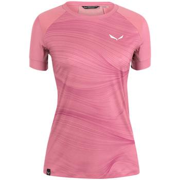 textil Mujer Camisetas manga corta Salewa Koszulka  Seceda Dry W 28070-6570 rosado